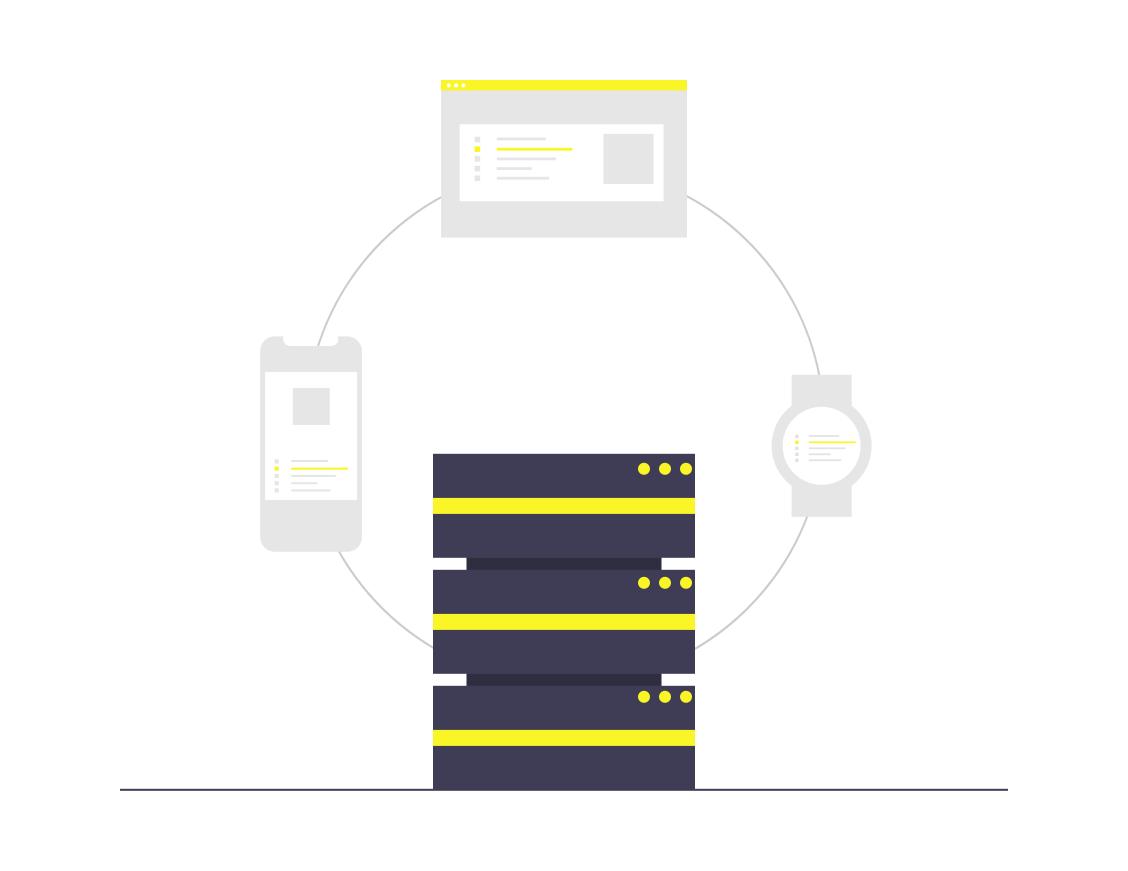 سهولة تخزين البيانات و ترتيب و تنظيم المعلومات