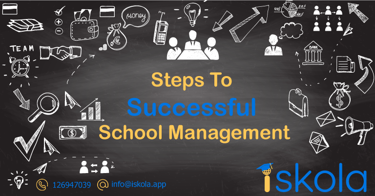 steps to successful school management